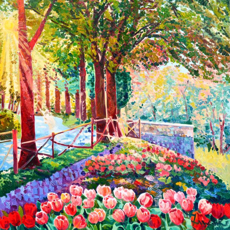 Racconto di luce a primavera