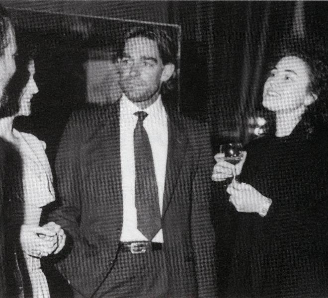 Athos Faccincani, Fabio Testi, Lory Del Santo - Milano 1985