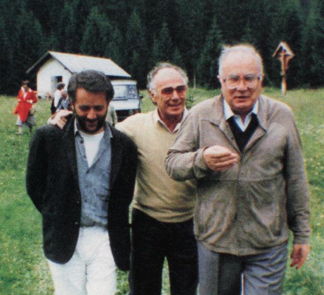 Athos Faccincani, Nantas Salvalaggio e Cesare Marchi
