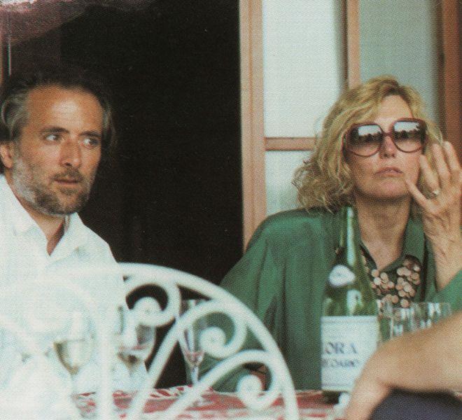 Athos Faccincani con Kim Novak 1999
