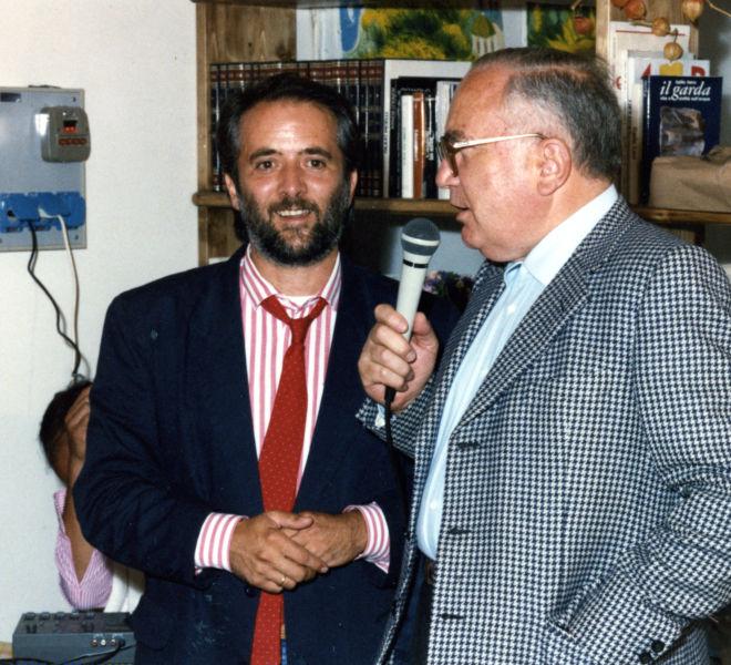 Athos Faccincani e Cesare Marchi