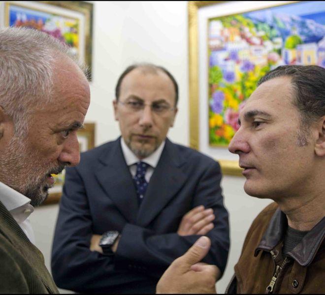 Athos Faccincani e Francesco Paoloantoni