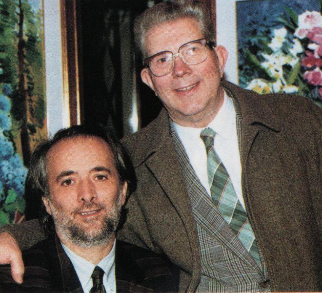 Athos Faccincani e Giorgio Gioco - Verona 1991
