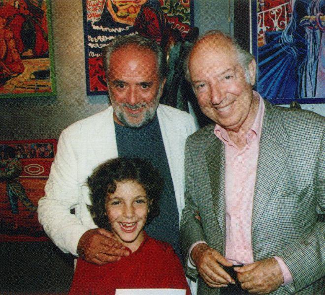 Athos Faccincani e il Principe Carlo Giovanelli 2004