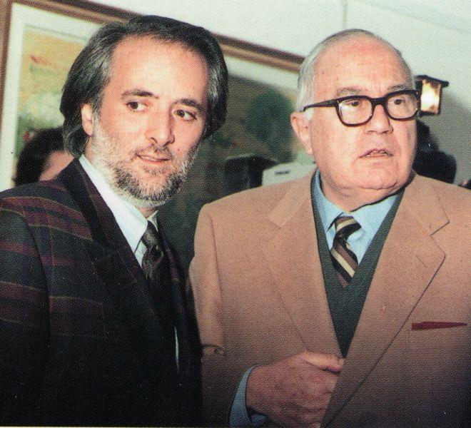 Cesare Marchi e Athos Faccincani 1981