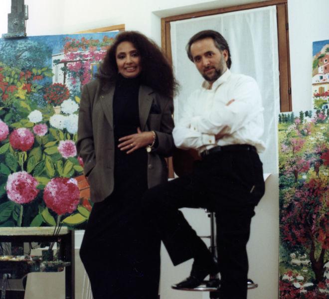 Lola Falana e Athos Faccincani