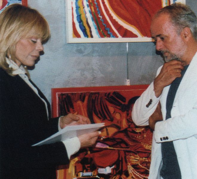 Marina De Laurentiis e Athos Faccincani 2005
