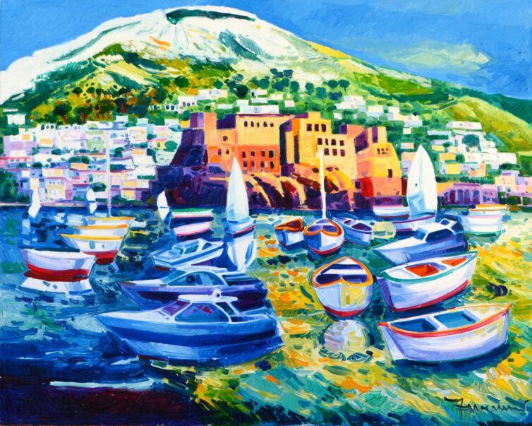 Napoli e una carezza di luce