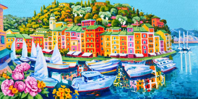 Magia di luce e colori intorno a Portofino