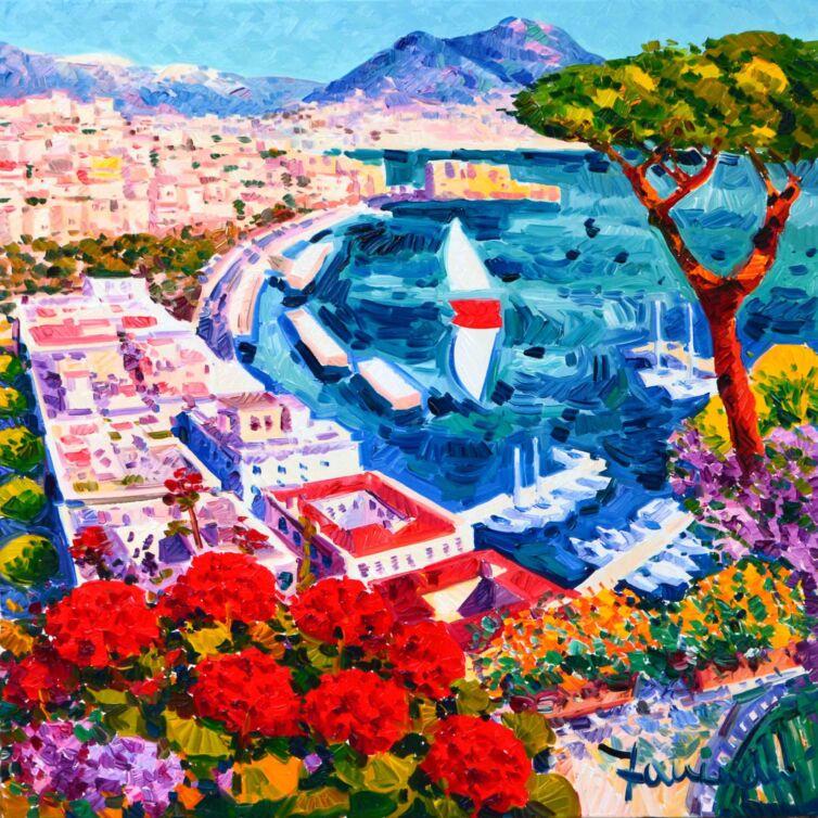 Contemplare il golfo di Napoli e la sua luce